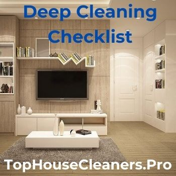 Deep Cleaning Checklist