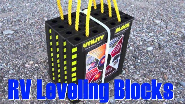 An example of RV Leveling Blocks
