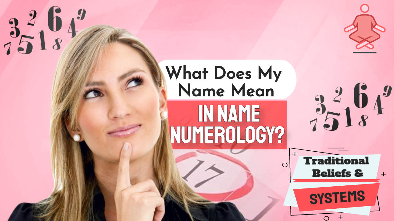 """Image text: """"What does my name mean in Name Numerology""""."""